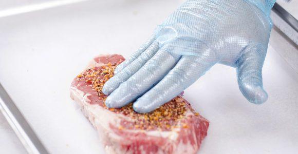Grip Gards® Blue Stretch Hybrid Gloves